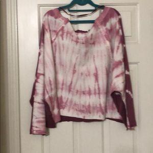New Free people sweat shirt size Medium